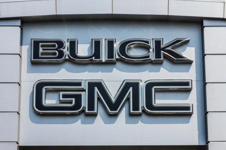 ココモ - 2017 年 9 月頃: GMC ビュイック トラックと SUV の販売店。GMC、ビュイックは GM II の部門