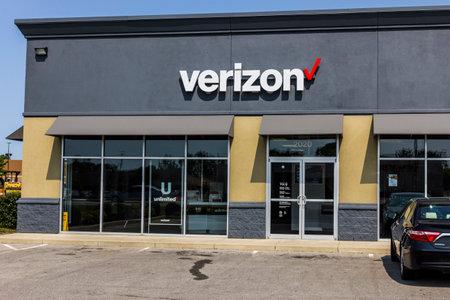 Kokomo - Circa September 2017: Verizon Wireless Retail Location. Verizon is the largest U.S. wireless communications service provider XXI