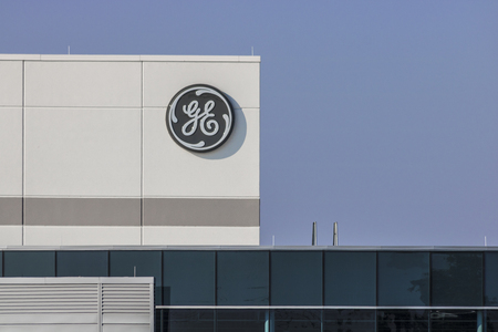 Lafayette - Circa September 2017: General Electric Factory. GEs new CEO is preparing job cuts in a bid to reduce costs XV Editorial