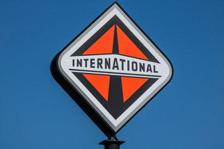 Lafayette - Circa September 2017: International Trucking corporate logo and signage. International is owned by Navistar I Redakční
