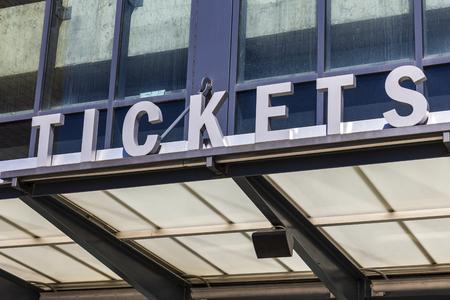 Stadium Ticket Window Sign II