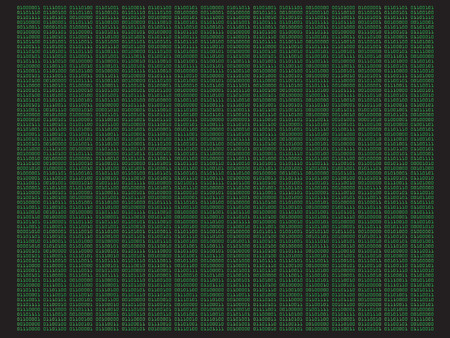 Digital Binary Code - Abstract concept security and data background II