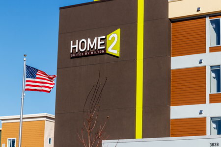 Lafayette - Circa February 2018: Home2 Suites by Hilton. Home2 Suites is an all-suite extended-stay hotel I