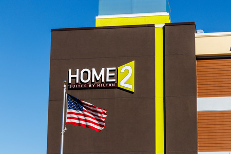 Lafayette - Circa February 2018: Home2 Suites by Hilton. Home2 Suites is an all-suite extended-stay hotel II