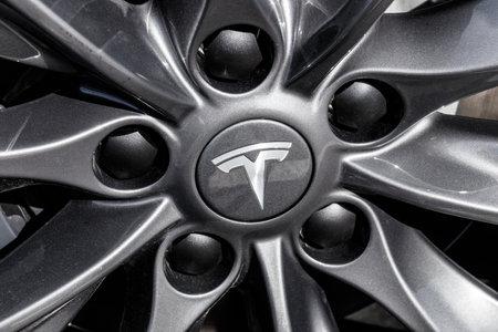 Indianapolis - Circa February 2018: Tesla Motors Local Car Dealership. Tesla designs and manufactures the Model S electric sedan II
