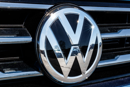 Indianapolis - Circa March 2018: Volkswagen Cars and SUV Dealership. VW is Among the Worlds Largest Car Manufacturers I