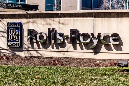 Indianapolis - Circa March 2018: Rolls-Royce Aerospace Jet Turbine Plant. More Rolls-Royce products are built in Indianapolis than anywhere else in the world I