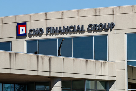 Carmel - Circa March 2018: CNO Financial Group headquarters. CNO was formerly known as Conseco Inc. III