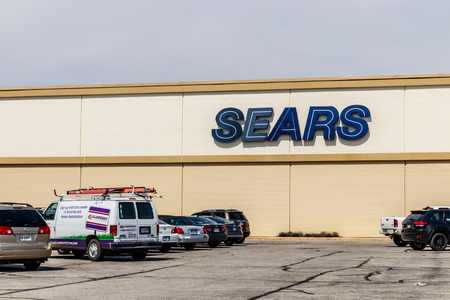 Indianapolis - Circa April 2018: Sears Retail Location. According to Sears Holdings, this will be another location that will be shuttered III Editorial