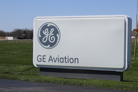Vandalia - Circa April 2018: General Electric Aviation Facility. GE Aviation is a Provider of GE90 and LEAP Jet Engines I