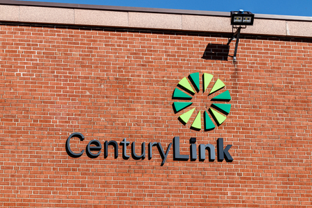 Greenville - Circa April 2018: CenturyLink Central Office. CenturyLink offers Data Services to Customers in 60 countries I