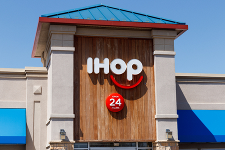 Anderson - Circa April 2018: International House of Pancakes. IHOP is a Restaurant Chain Offering a Variety of Breakfast and Dinner Meals II