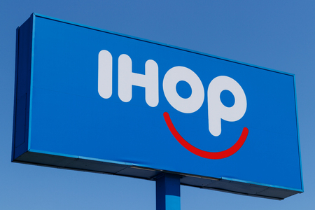 Anderson - Circa April 2018: International House of Pancakes. IHOP is a Restaurant Chain Offering a Variety of Breakfast and Dinner Meals I