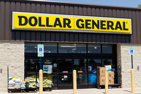 Peru - Circa May 2018: Dollar General Retail Location. Dollar General is a Small-Box Discount Retailer I Redakční
