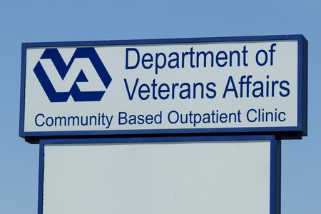 Peru - Circa May 2018: Veterans Affairs Outpatient Clinic. In an effort to bring health care closer to veterans, the VA is testing the viability of outpatient clinics I