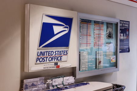 Chicago - Circa May 2018: USPS Post Office Location. The USPS is Responsible for Providing Mail Delivery II