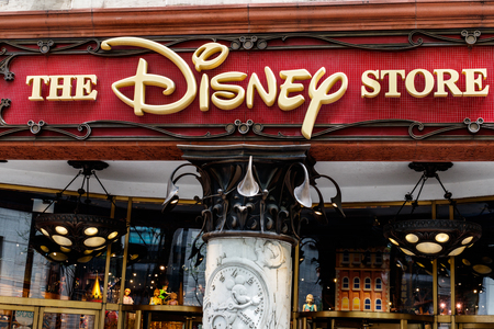 Chicago - Circa May 2018: Disney Store Retail Mall Location. Disney Store is the Official Site for Disney Shopping II Editorial