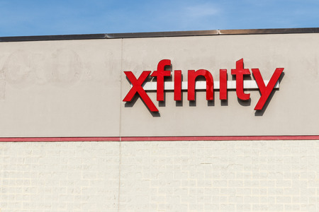Hobart - Circa May 2018: Xfinity branded Comcast consumer retail