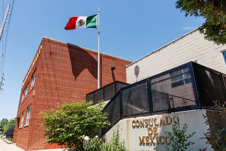 Indianapolis - Circa May 2018: Consulado de Mexico. The Consulate of Mexico in Indianapolis is a representation of the Government of Mexico based in Indiana II