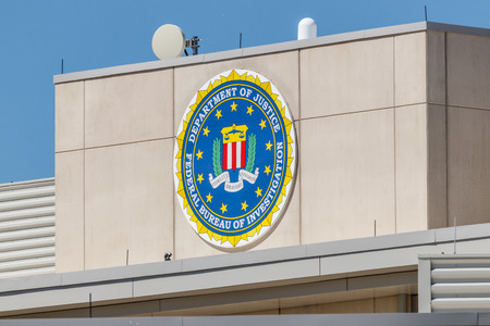 Indianapolis - Circa May 2018: Federal Bureau of Investigation Indianapolis Division. The FBI is the prime federal law enforcement agency in the US II Editorial