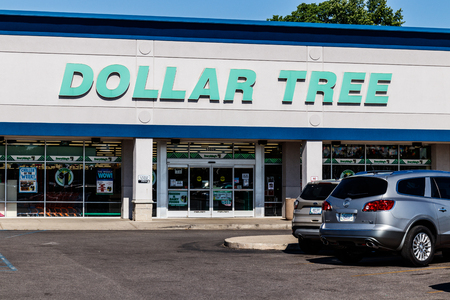 Indianapolis - Circa May 2018: Dollar Tree Discount Store. Offering an Eclectic Mix of Products at Discount Prices I