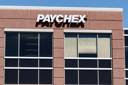 Indianapolis - Circa May 2018: Local Paychex service office, Paychex is a provider of payroll, human resource, and benefits outsourcing services II