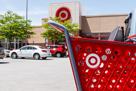 Kokomo - Circa May 2018: Target Retail Store Baskets. Targets online sales are booming but proving costly to profits III