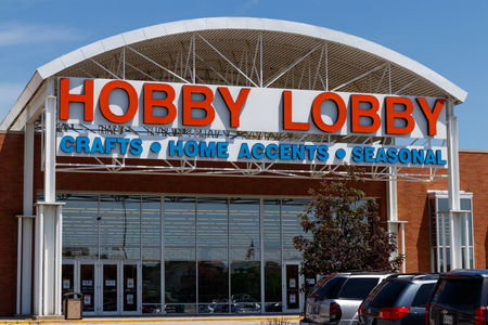 Westfield - Circa June 2018: Hobby Lobby Retail Location. Hobby Lobby is a Privately Owned Christian Principled Company III