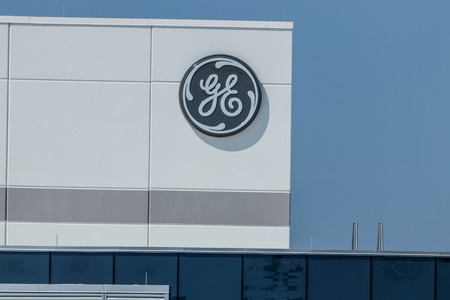 Lafayette - Circa July 2018: General Electric Aviation Facility. GE Aviation is a Provider of GE90 and LEAP Jet Engines IX