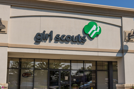 Mishawaka - Circa August 2018: Local Girl Scouts office. Girl Scouts is a youth organization for girls in the US and American girls living abroad I