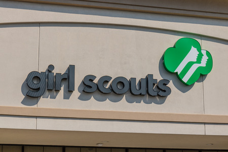Mishawaka - Circa August 2018: Local Girl Scouts office. Girl Scouts is a youth organization for girls in the US and American girls living abroad II