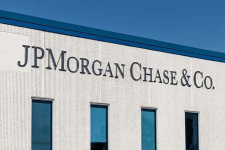 Indianapolis - Circa August 2018: JPMorgan Chase Operations Center. JPMorgan Chase and Co. is the largest bank in the United States I