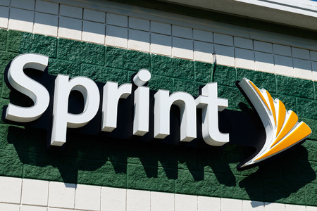 Frankfort - Circa August 2018: Sprint mobile phone store. Opposition is growing to the T-Mobile Sprint merger I Editorial
