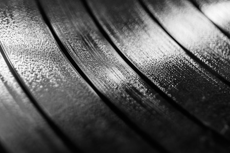 Vinyl LP Record grooves for musical background II