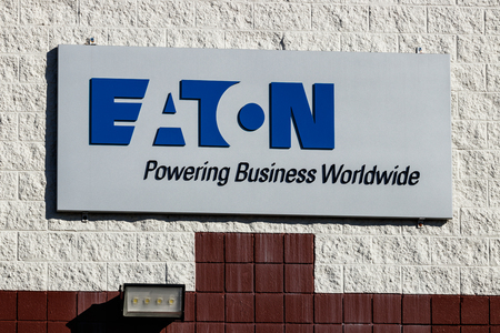 Indianapolis - Circa January 2019: Eaton Logistics Center. Eaton Corporation is a multinational power management company based in Ireland I