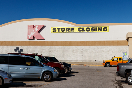 Indianapolis - Circa January 2019: Kmart Retail Location. Sears Holdings filed for bankruptcy and has decided to close many locations I