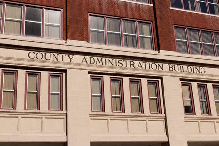 Cincinnati - Circa February 2019: County Administration Building in downtown I Editorial