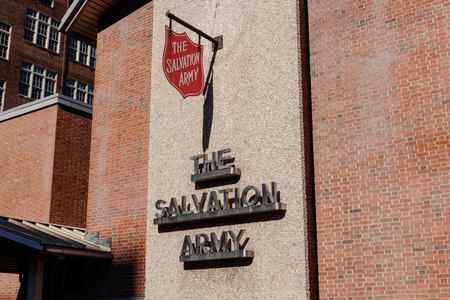 Cincinnati - Circa February 2019: Salvation Army office. The Salvation Army is an international charitable organization I