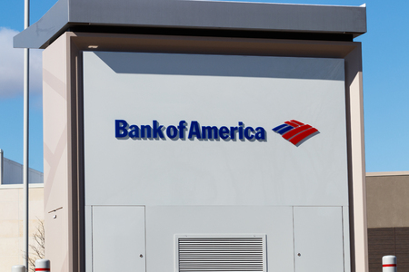 Indianapolis - Circa March 2019: Bank of America Bank and Loan ATM. Bank of America is a Banking and Financial Services Corporation II