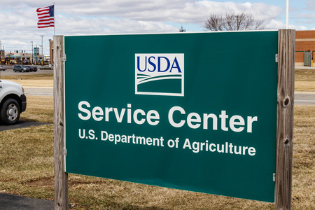 Kokomo - Circa March 2019: USDA Service Center. The US Department of Agriculture is responsible for laws related to farming, forestry, and food I