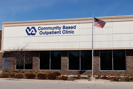 Muncie - Circa March 2019: Veterans Affairs Outpatient Clinic. In an effort to bring health care closer to veterans, the VA is testing the viability of outpatient clinics V