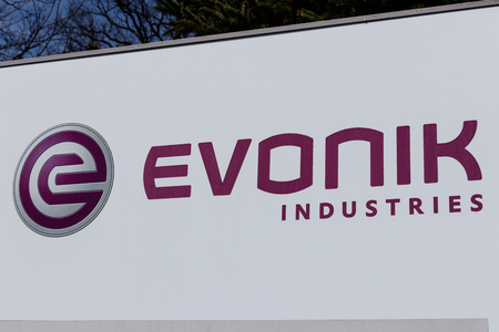 Lafayette - Circa April 2019: Evonik Industries Manufactures Pharmaceutical ingredients and Animal Health Products I Editorial