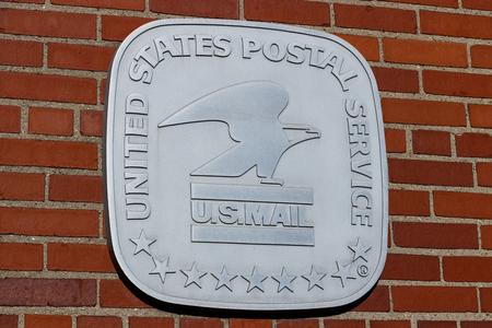 Celina - Circa April 2019: USPS Post Office Location. The USPS is Responsible for Providing Mail Delivery II