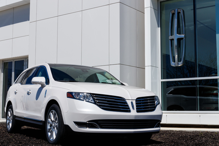Fishers - Circa April 2019: Lincoln Crossover and SUV Dealership. Lincoln is a division of the Ford Motor Company I