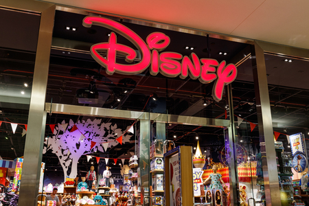 Las Vegas - Circa June 2019: Disney Store Retail Mall Location. Disney Store is the Official Site for Disney Shopping II Editorial