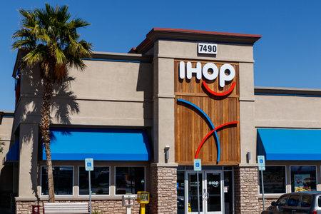 Las Vegas - Circa June 2019: IHOP Pancake restaurant. International House of Pancakes is expanding their menu to include burgers I