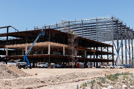 Henderson - Circa June 2019: Raiders new practice facility. The Raiders begin play in Las Vegas in 2020 III