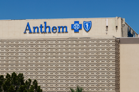 Las Vegas - Circa June 2019: Anthem Blue Cross Nevada Headquarters. Anthem is a Trusted Health Insurance Plan Provider III