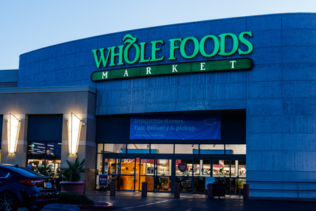 Las Vegas - Circa June 2019: Whole Foods Market. Despite Amazon's push for price cuts at Whole Foods, the chain remains the highest priced grocer I