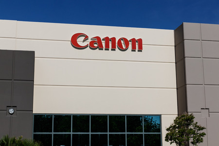 Las Vegas - Circa June 2019: Canon Solutions office. Canon manufactures photography, imaging, and optical products I
